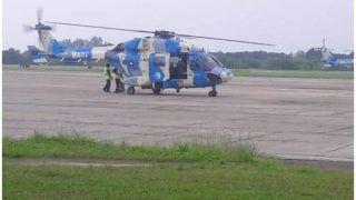 मालदीव के 'गन अड्डू एटोल द्वीप' के निगरानी बेड़े में भारत का नया हेलीकॉप्टर शामिल