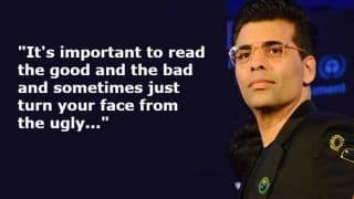 Karan Johar Reveals he Reads Everything Written About Him on Social Media And Gains Strength Out of it