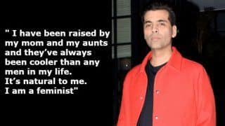 Karan Johar Speaks on #MeToo, Says 'I am a Feminist' And Reading Sexual Harassment Stories Was 'Heartbreaking'