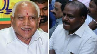Karnataka Crisis: Congress MLAs Remain Holed up at Bengaluru Resort Fearing Poaching Bid by BJP, Yeddyurappa Says Wouldn't Destabilise Govt