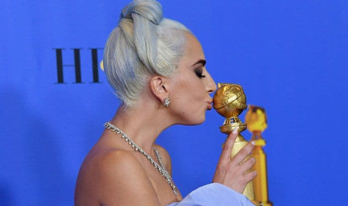 Golden Globes 2019: Lady Gaga Cries as 'Shallow' Wins Best Original Song Award, Says 'It's Hard to be a Woman in Music'