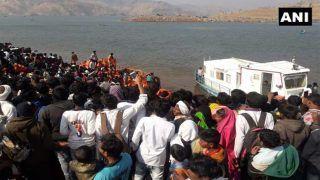 महाराष्ट्र में 60 लोगों से भरी नाव नर्मदा नदी में डूबी, 6 की मौत, कई लापता