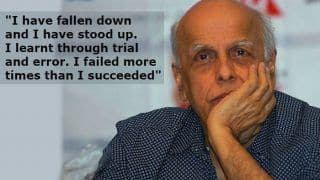Mahesh Bhatt Calls Himself an 'Ordinary  Person', Says 'I Learnt Through Trial And Error'