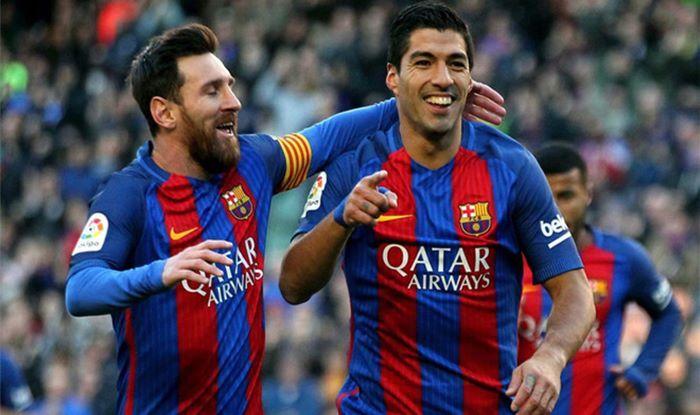 Lionel Messi- Luis Saurez