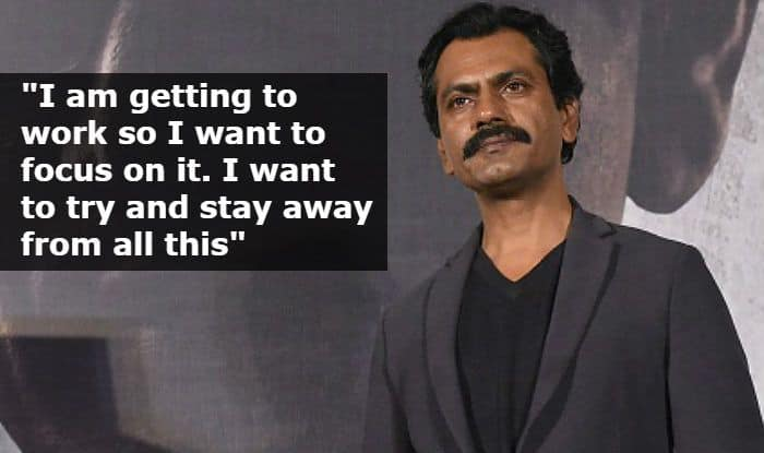Rajkumar Hirani Sexual Harassment Case: Nawazuddin Siddiqui Reacts by Saying 'I Want to Focus on Work'