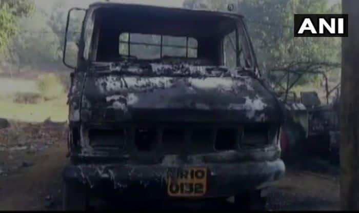 Odisha: Maoists Kill 1, Torch Vehicles in Patiamba Village; Combing Operations Intensified