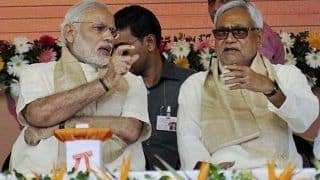 Lok Sabha Elections 2019: NDA Seals Seat-Sharing Pact in Bihar; BJP-JD(U) to Contest on 17 Seats Each, LJP Gets 6