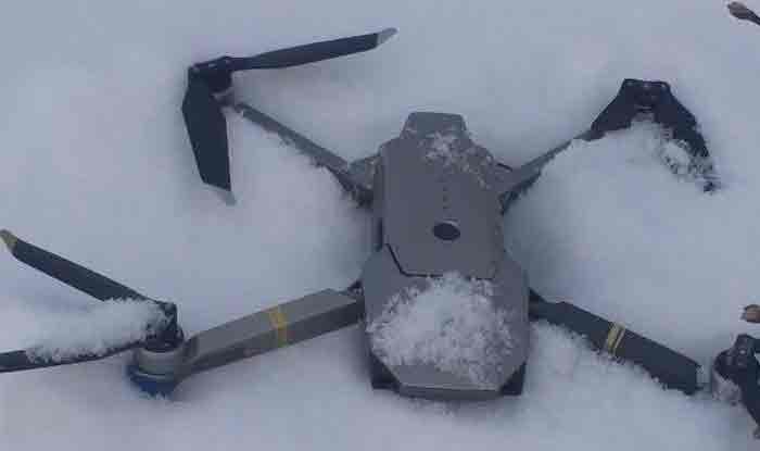 पाकिस्तान का दावा- LoC पर भारतीय जासूसी ड्रोन मार गिराया