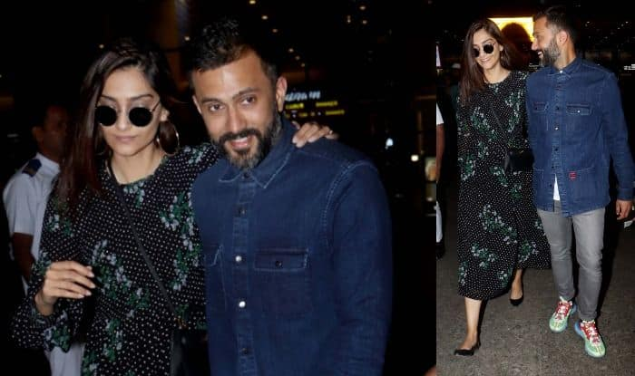 Sonam Kapoor and Anund Ahuja