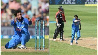 न्यूजीलैंड की आधी टीम को समेटा, भारत के 'कुलचे' का असर सबने देखा