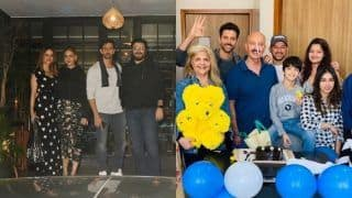 Hrithik Roshan Celebrates Birthday With Ex-Wife Sussanne Khan And Sonali Bendre, See Pics