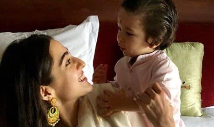 Sara Ali Khan and Taimur Ali Khan