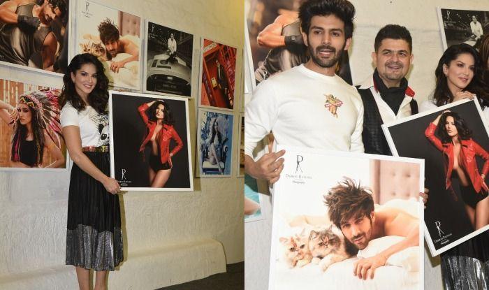 Kartik Aaryan, Sunny Leone, Kriti Sanon And Other Bollywood Celebs Attend Dabboo Ratnani Calendar Launch