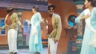 Haryanvi Hotness Sapna Choudhary Dances With Sunil Grover to Teri Aakhya ka yo Kajal on The Sets of Latter's Show, Watch Video