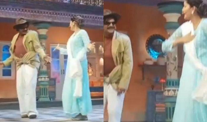 Haryanvi Hotness Sapna Choudhary Dances With Sunil Grover to Teri Aakhya ka yo Kajal on The Sets of Latter's Show, Watch Video