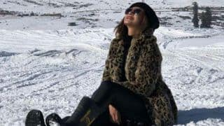 Bepannaah Fame Jennifer Winget Playing in The Snow is What Looks Like The Perfect New Year Celebration
