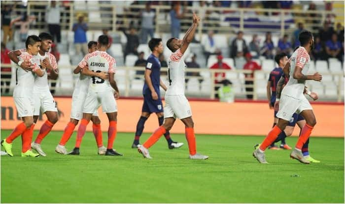 India vs Thailand AFC Asian Cup 2019 Live Score and Updates: Sunil Chhetri Scores Second Goal to Give Blue Tigers 2-1 Lead vs Thailand