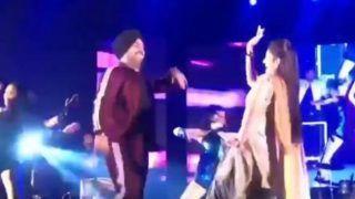Haryanvi Hot Bomb Sapna Choudhary Flaunts Her Sexy Thumkas With Punjabi Singer Deep Money on Teri Aakhya Ka Yo Kajal - Watch