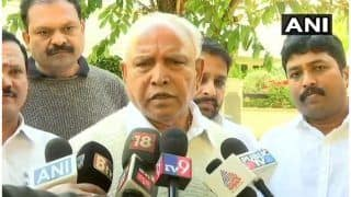 बी.एस येदियुरप्पा ने दिया संकेत, कांग्रेस-जेडीएस गठबंधन में कभी भी हो सकता है विस्फोट