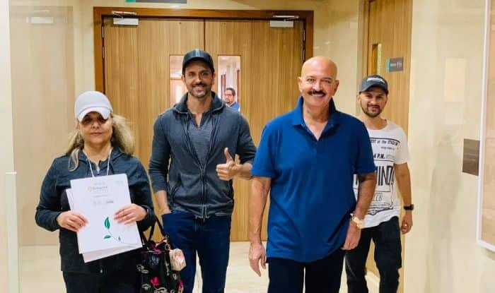 Hrithik Roshan Shares Rakesh Roshan's Robust Pictures Post Surgery, Says 'We begin again'