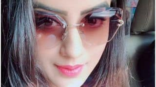 Bhojpuri Bombshell Akshara Singh Sees World Through Rose Coloured Glasses And This Pic is Proof!