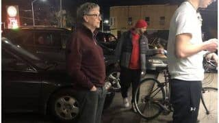 Bill Gates Spotted Waiting in Line For Burger at Dick's Drive-In in Seattle, See Pic