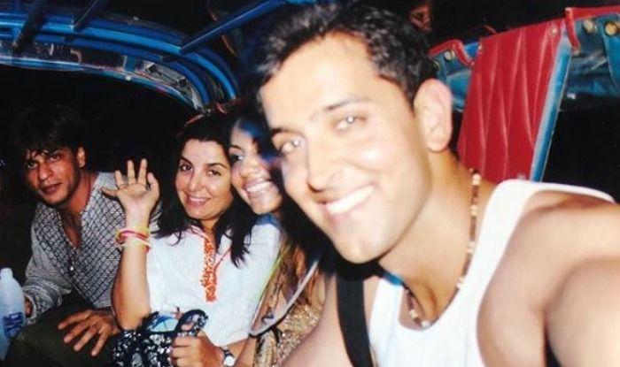 Shah Rukh Khan, Gauri Khan, Hrithik Roshan, Farah Khan