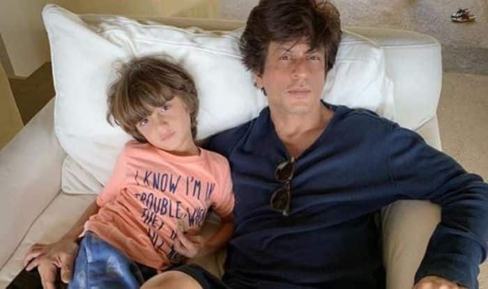 Shah Rukh Khan-Abram Take Chill Pill And Refuse to Agree With Mom on This Lazy Sunday, See Pic