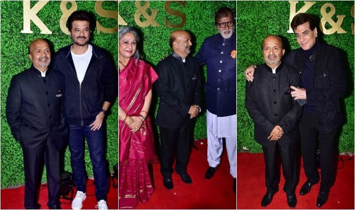 Sameer Anjaan's Daughter's Wedding Turns Out to be Gala Star Night, Amitabh Bachchan-Jaya Bachchan-Jitendra-Anil Kapoor And Others Bless NewlyWeds