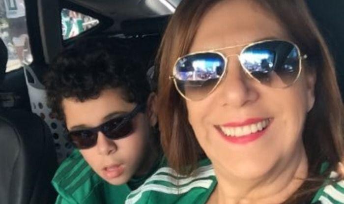 Silvia Grecco and son Nickollas