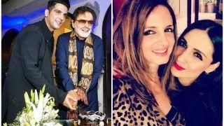 संजय खान के जन्मदिन पर लगा सितारों का जमावड़ा, दूसरी बुक का भी किया खुलासा