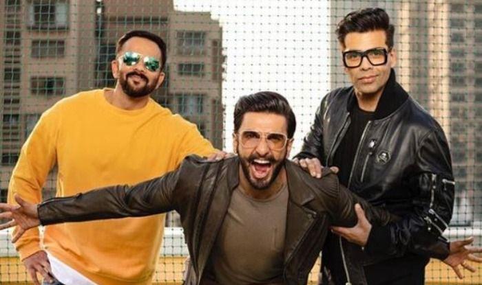 Karan Johar, Rohit Shetty, Ranveer Singh