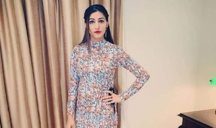 Haryanvi Sensation Sapna Choudhary Looks Hot AF in This Floral Dress