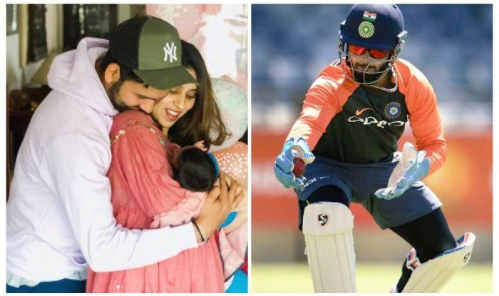 रोहित शर्मा ने अपनी बेटी के लिए रिषभ पंत को ऑफर किया ये रोल, बोले- रितिका खुश होगी