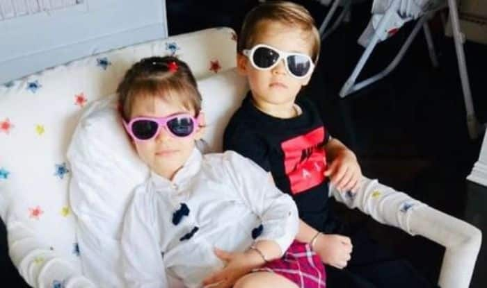 Karan Johar's twins Yash and Roohi Johar