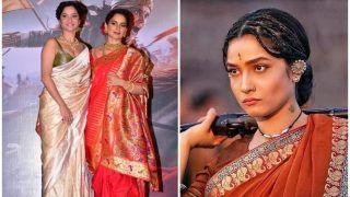 'Manikarnika' रिलीज होने से पहले ही बोलीं अंकिता लोखंडे, 'उतार चढ़ाव में मिला साथ'