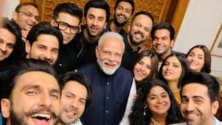 Karan Johar Posts Epic Selfie of Narendra Modi With Bollywood Stars Ranveer Singh, Ranbir Kapoor, Alia Bhatt And Others