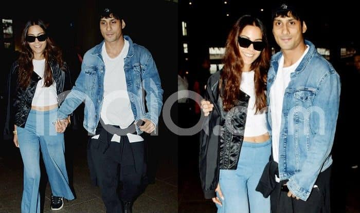 Prateik Babbar-Sanya Sagar Get Clicked at Mumbai Airport Post Wedding; Family Prepares For Bollywood Reception-See Pics