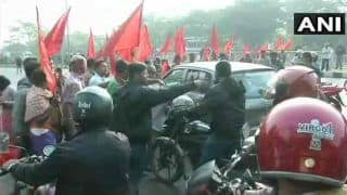 Two-day Bharat Bandh Evokes Mixed Response; Bengal And Kerala Worst Hit, Banking, Transport Services Affected