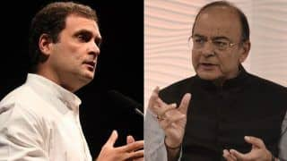 Rahul Gandhi Writes to Arun Jaitley's Family, Says 'he Will be Remembered in Parliament'