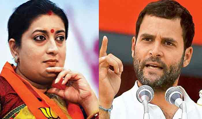 Smriti Irani Hits Back at Rahul Gandhi For Criticising 'Sankalp Patra', Says he is Obsessed With BJP