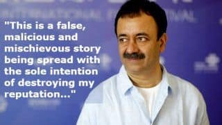 Rajkumar Hirani Finally Speaks on The Sexual Harassment Allegations Against Him, Says 'I Was Completely Shocked'