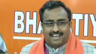 Opposition Can Daydream Till May 23: Ram Madhav on Exit Polls