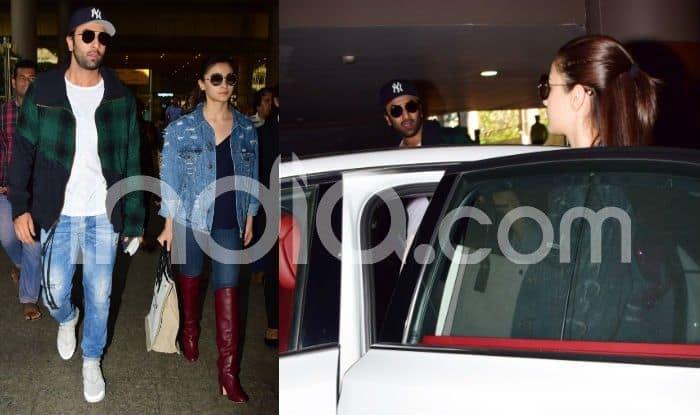 Ranbir Kapoor-Alia Bhatt's Latest Airport Photos Out, The Brahmastra Couple Walks Out in Style