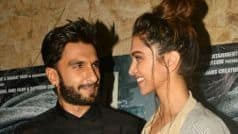 Deepika Padukone's Priceless Reaction on Ranveer Singh's Filmfare Win is Cutest Thing on Internet