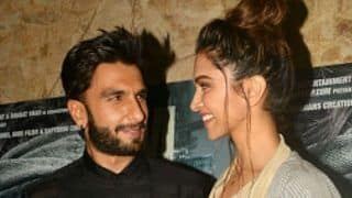 Deepika Padukone's Priceless Reaction on Ranveer Singh's Filmfare Win is Cutest Thing on Internet Today
