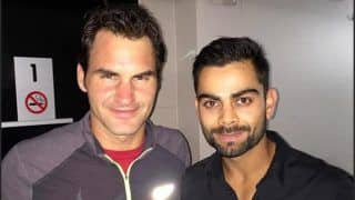 'Fanboy' Virat Kohli Says it Was Amazing to Meet Roger Federer, Reminisces His Childhood Memories