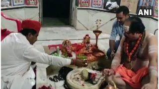 राजस्थान सरकार में मंत्री सालेह मोहम्मद हैं शिवभक्त, चर्चा का विषय बनी पूजा करने की ये तस्वीर