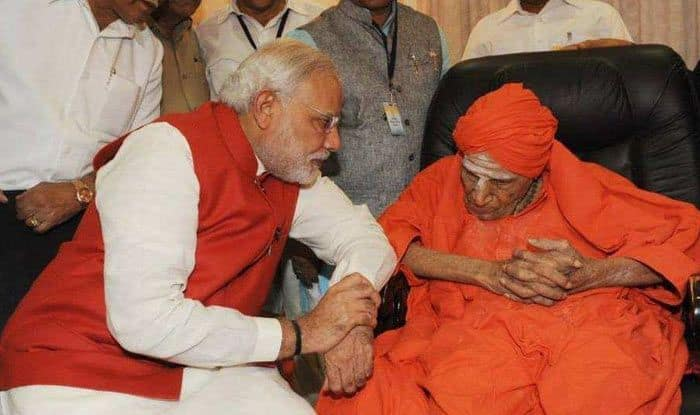 Lingayat Seer of Siddaganga Math, Shivakumara Swamiji, Passes Away at 111; Top Politicos Pay Tribute to Prominent Lingayat Seer