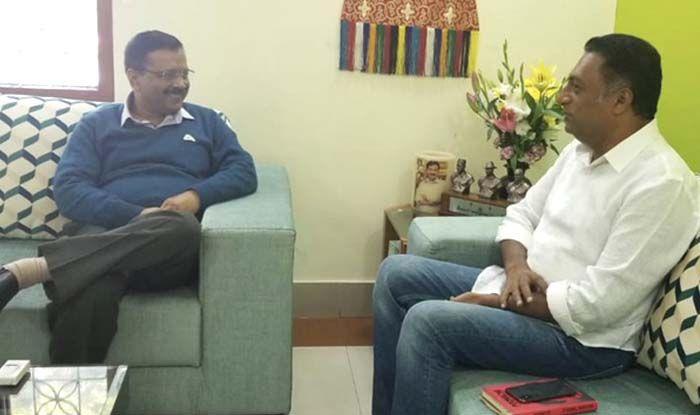 प्रकाश राज ने सीएम अरविंद केजरीवाल से की मुलाकात, इस मुद्दों पर हुई चर्चा